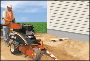 Irrigation Helps & Tutorials - How to Dig Trenches for